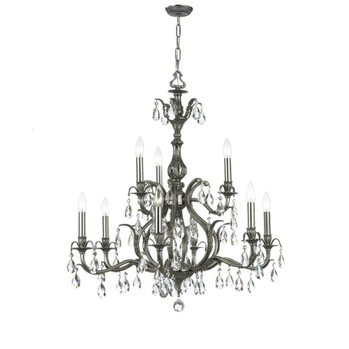 Crystorama Dawson 9 Light Chandelier