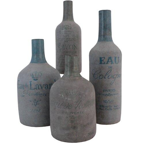 Import Collection 4 Piece Eu Charlez Bottle Set