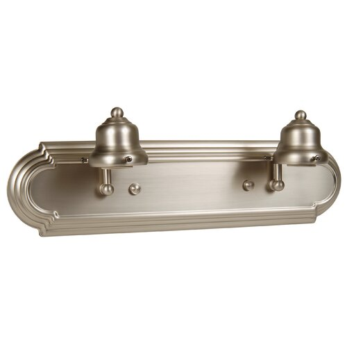 Jeremiah Racetrack Arch 2 Light Bath Vanity Light
