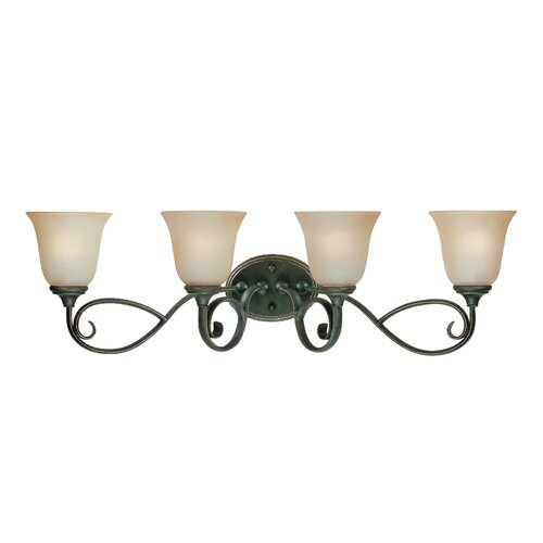 Jeremiah Barret Place 4 Light Bath Vanity Light