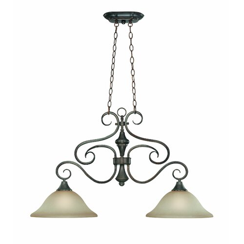 Torrey 2 Light Chandelier