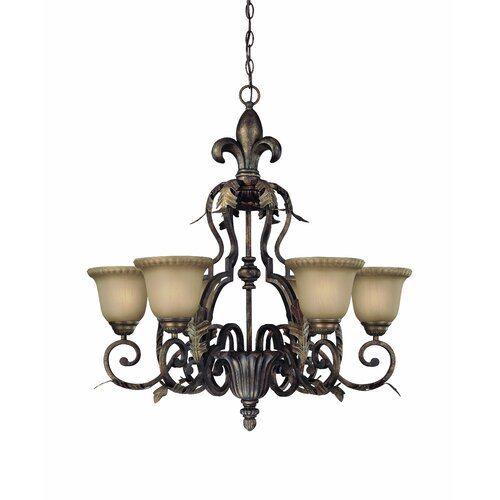 Jeremiah Devereaux 6 Light Chandelier