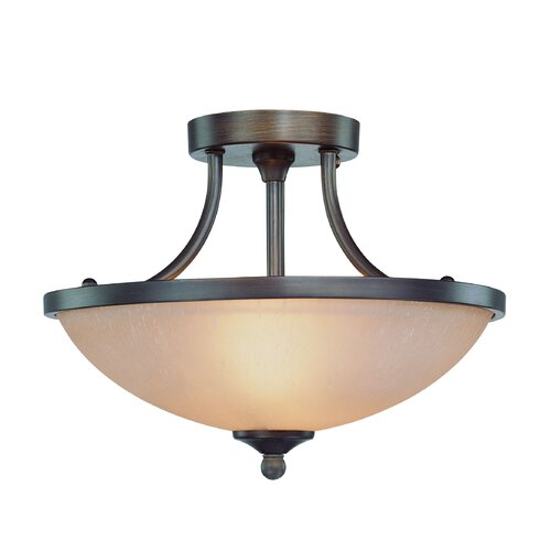 Jeremiah Spencer 2 Light Semi Flush Mount