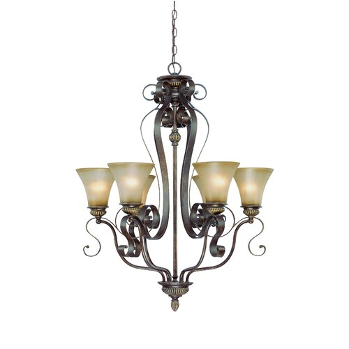 Jeremiah Kingsley 6 Light Chandelier