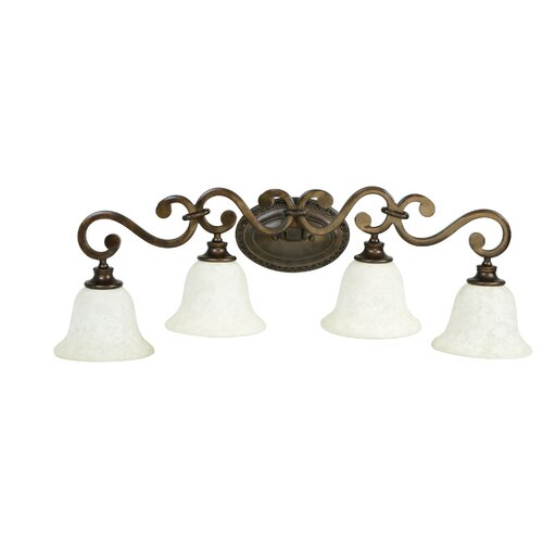 Jeremiah Toscana 4 Light Bath Vanity Light