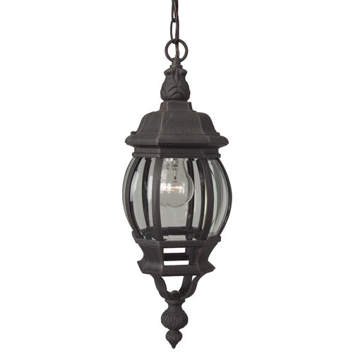 Jeremiah French Style 1 Light Pumpkin Pendant