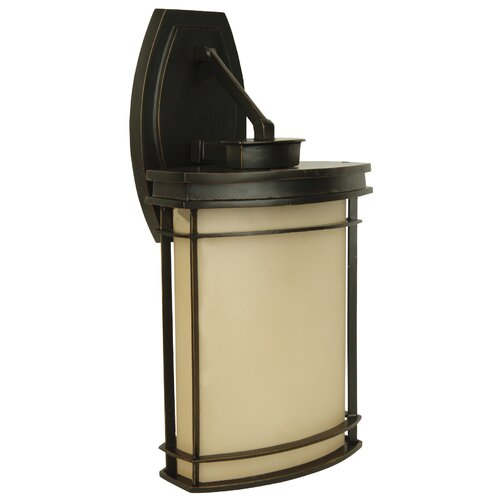 Jeremiah Vale 1 Light Outdoor Wall Lantern