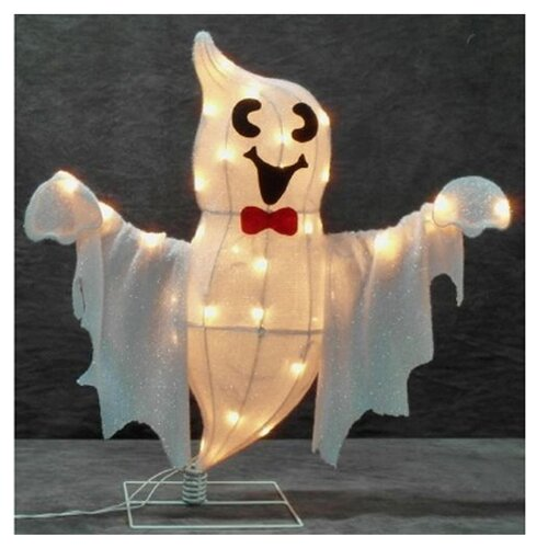 Swaying Happy Ghost Halloween Decoration