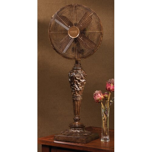 Deco Breeze Cantalonia Decorative Table Top Fan