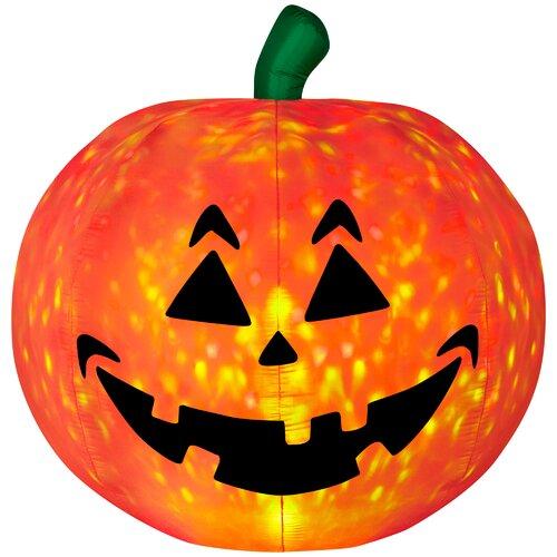 Light Show Pumpkin - Fire and Ice Halloween Decoration