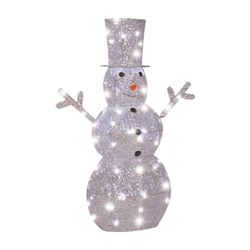 Starry Night Snowman Christmas Decoration