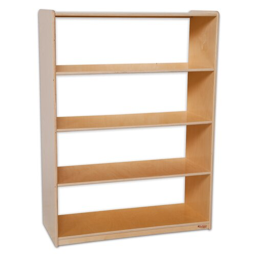 "Wood Designs Natural Environment 48"" Bookcase"