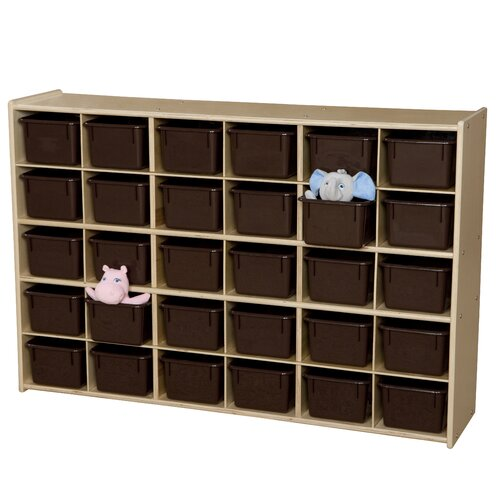Wood Designs Contender Baltic Single 30 Compartment Cubby