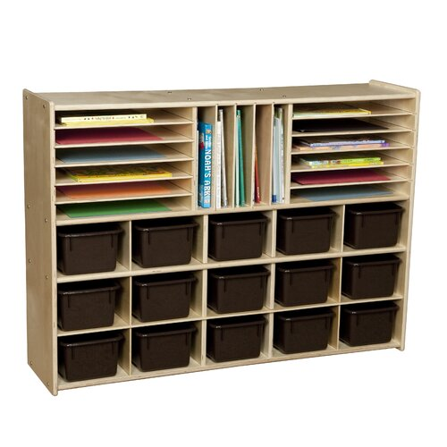 Wood Designs Contender Multi Use 32 Compartment Cubby