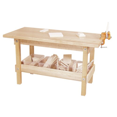 Wood Designs Workbench with Tray