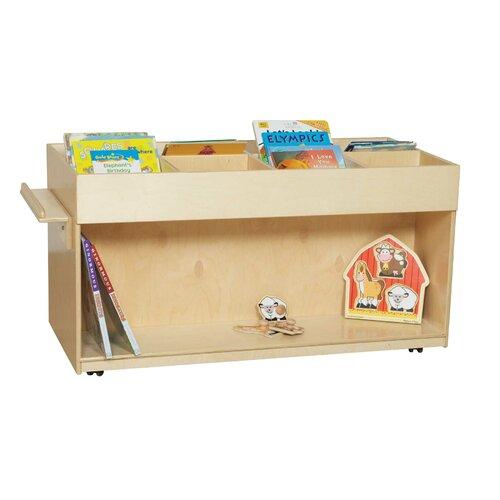 Wood Designs Book Browser Unit