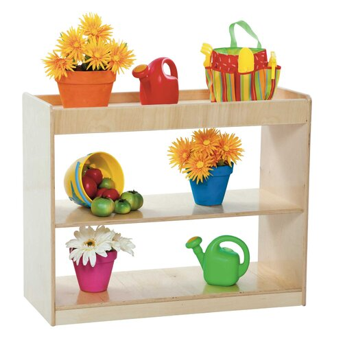 Wood Designs Two Shelf Open Divider