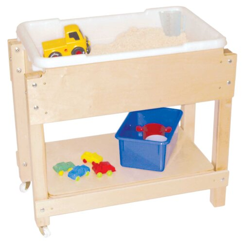 Wood Designs Petite Sand and Water Table with Top and Shelf