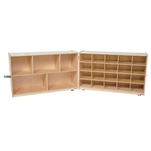 Wood Designs Storage Unit 25 Compartment Cubby