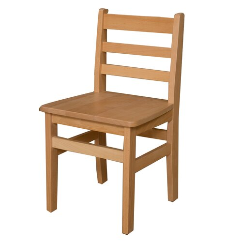 """Wood Designs 16"""" Wood Classroom Glides Chair"""