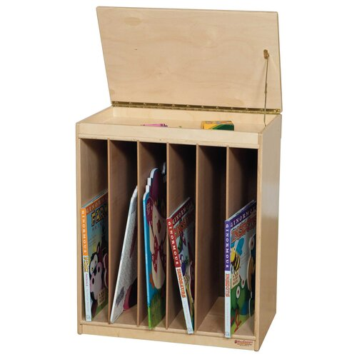 Wood Designs Big Book Display and Storage Unit