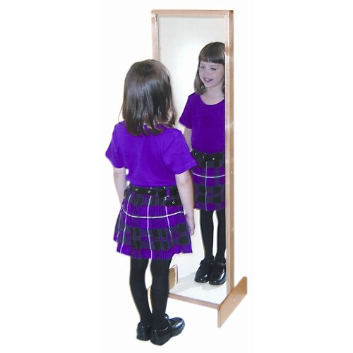 "Wood Designs 49"" H x 13"" W Tilt Mirror"
