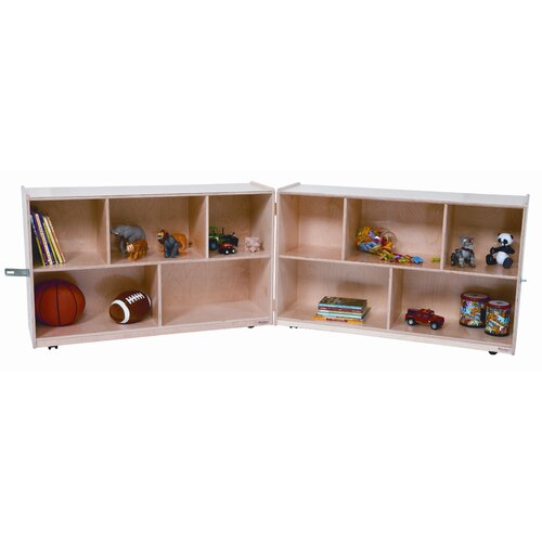 "Wood Designs 30"" X-Deep Folding Storage Unit"