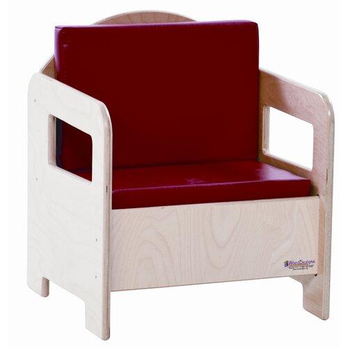 Wood Designs Natural Environment Kid's Club Chair