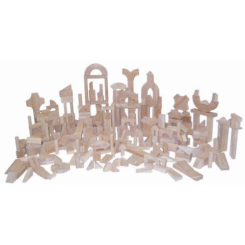 Wood Designs 372 Piece Classroom Blocks Set