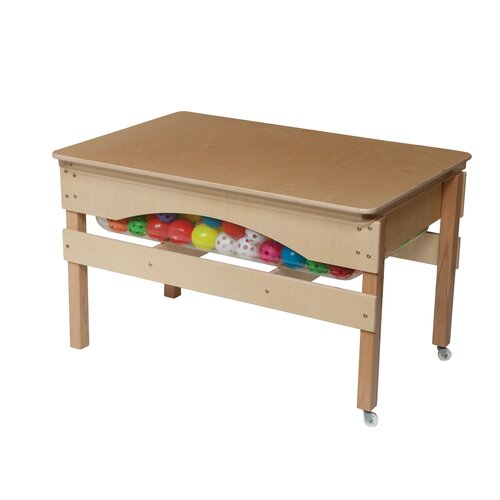 Wood Designs The Absolute Best Sand and Water Sensory Center Table