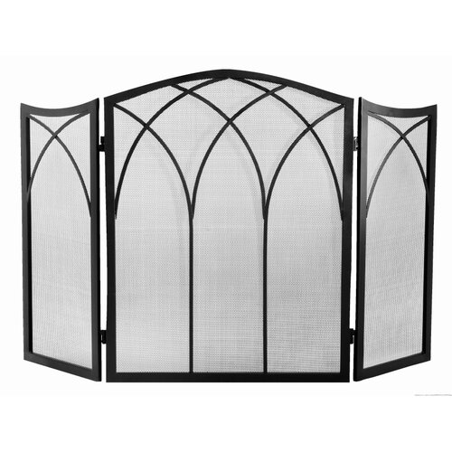 Napoleon Arched 3 Panel Fireplace Screen