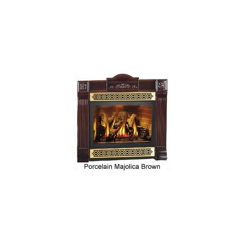 fireplace cast iron surround kit wayfair