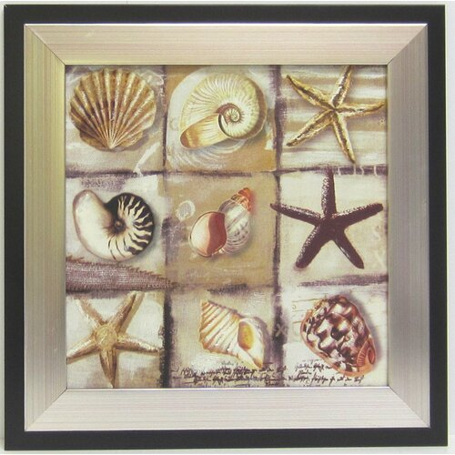 Alpine Art and Mirror Kitchen Shell Framed Graphic Art