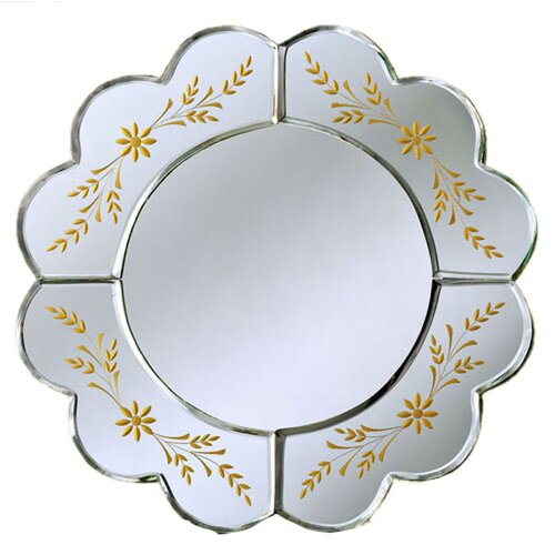 Venetian Gems Aleya Venetian Table Mirror