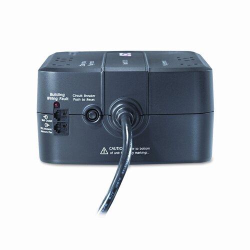 APC® Back-UPS ES 350 Battery Backup System, Six-Outlet, 350 Volt-Amps
