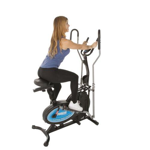 Lifemax Elliptical Bike: ProGear 400LS 2 In 1 Air Elliptical And Exercise Bike With