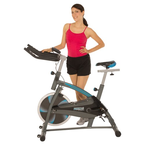 ProGear 60 Training Indoor Cycling Bike with Computer Monitor and Heart Pulse Sensors