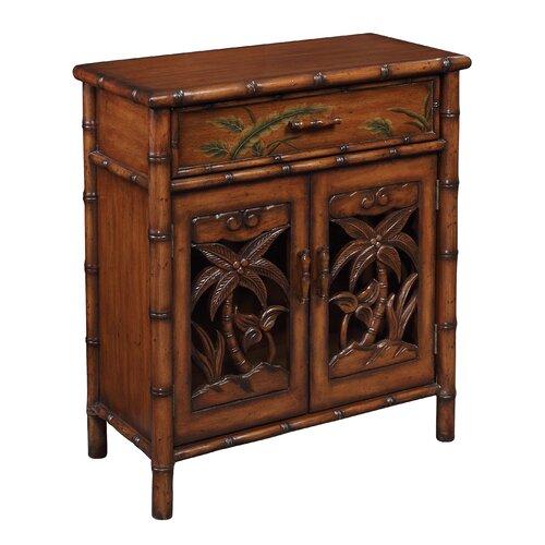 Coast to Coast Imports LLC 1 Drawer 2 Door Cabinet