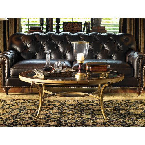 Lexington Regents Row Covington Leather Sofa