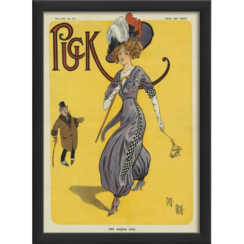 Puck The Harem Girl Framed Graphic Art