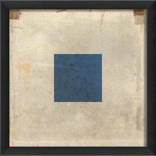 Blueprint Artwork Signal Flag S Framed Graphic Art
