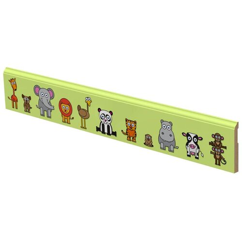 LilyTrim Happy Animals Wall Border