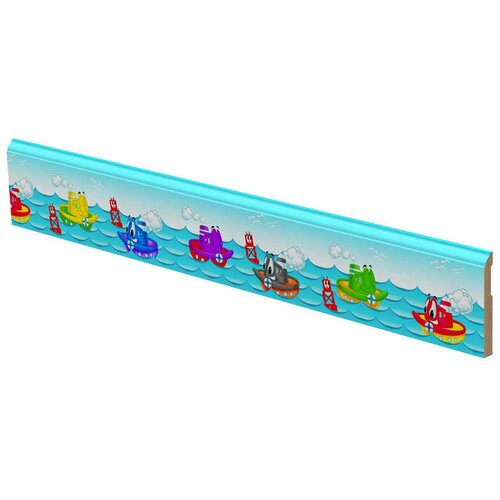 LilyTrim Tug Boats Wall Border