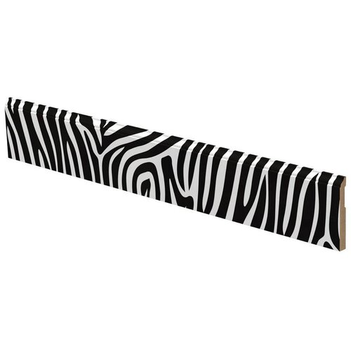 Zebra Pattern Wall Border