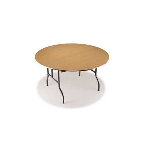 "Midwest Folding Products EF Series 60"" Semi Circle Folding Table"