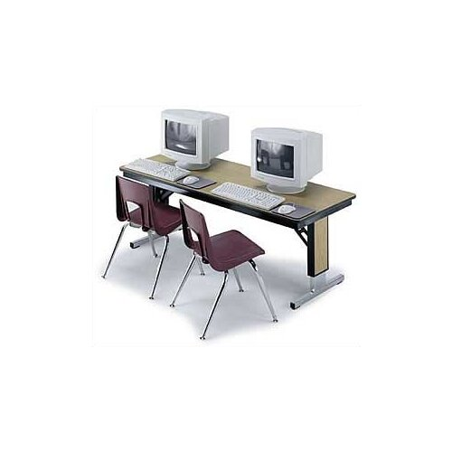 Midwest Folding Products TLA Series 96'' W x 36'' D Seminar Table