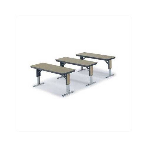 Midwest Folding Products TL/TLA Series 96'' W x 30'' D Seminar Table
