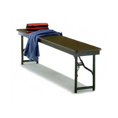 Midwest Folding Products Particleboard Core Entryway Bench