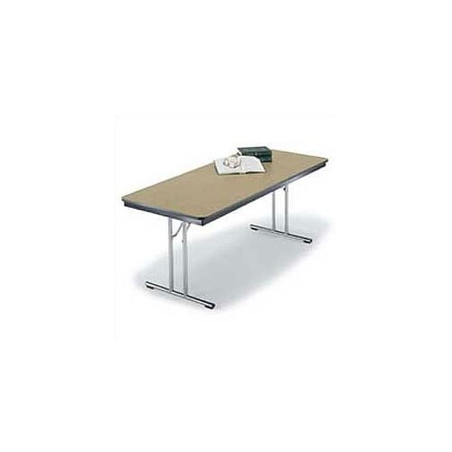 Midwest Folding Products Conference Designer Series Rectangular Folding Table