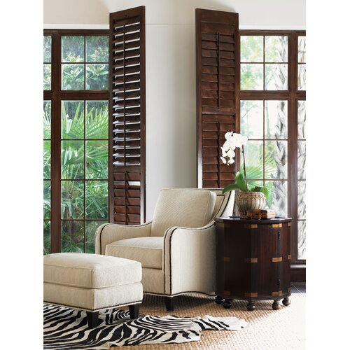 Tommy Bahama Home Royal Kahala Pacific Campaign ConsoleTable
